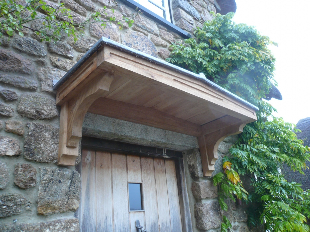 & Lead Porch Canopy - Projects / Services - Emanuel Hendry