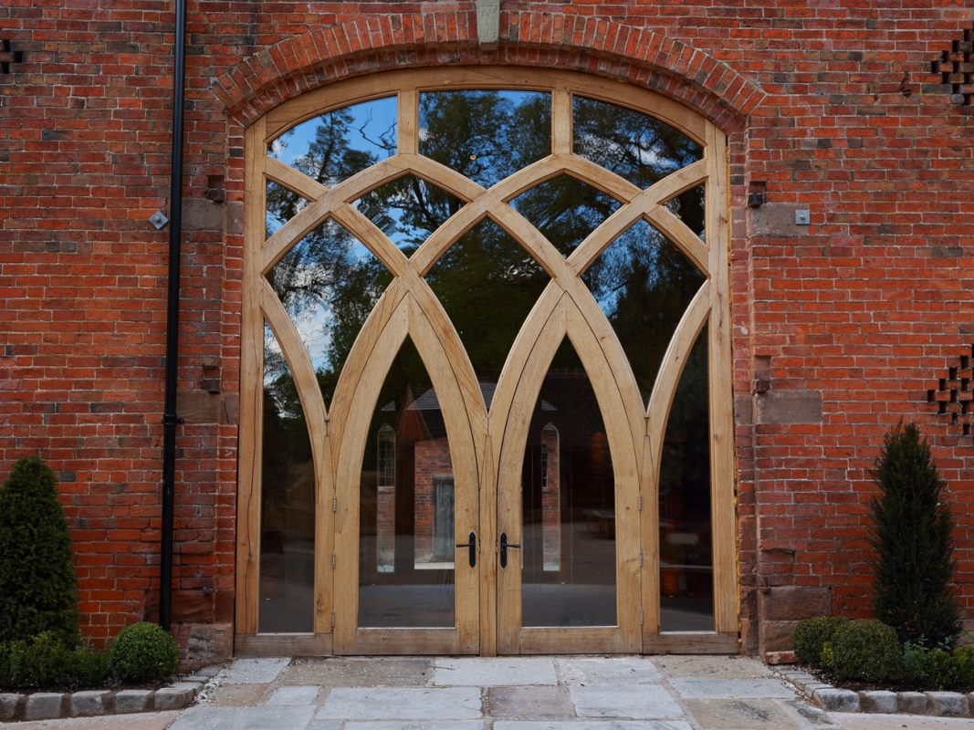 & Shustoke Gothic Doors - Projects / Services - Emanuel Hendry