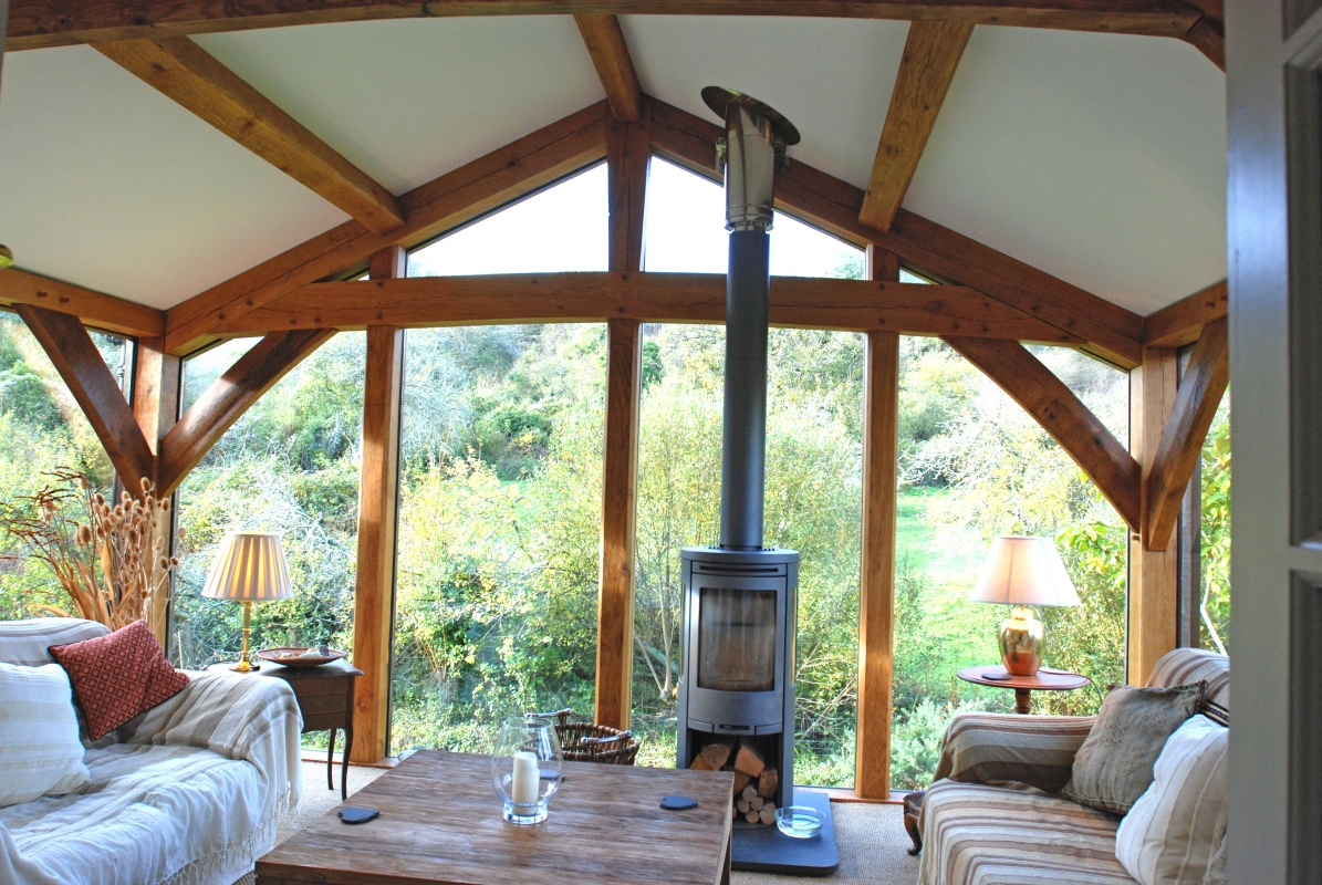 Tregew garden room projects services emanuel hendry for Garden rooms uk